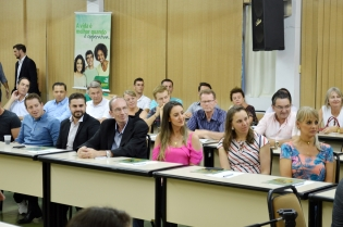 Diretora Presidente palestra no Sincovat - Foto 4