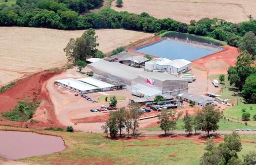 Companhia Minuano, Abatedouro de Aves localizado na cidade de Passo Fundo/RS.