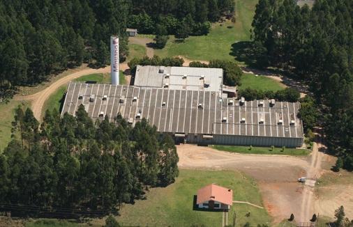 Companhia Minuano, Incubatório de Ovos localizado na cidade de Estrela/RS.