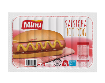 Salsicha Hot Dog 1 kg