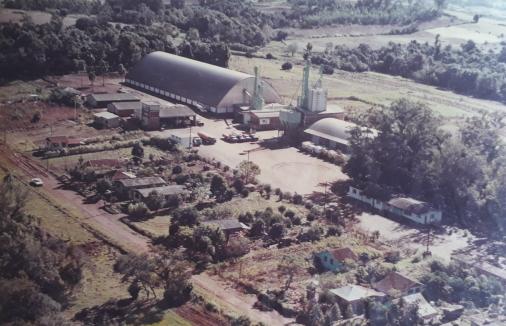 Companhia Minuano, fábrica de rações, localizada na cidade de Arroio do Meio/RS